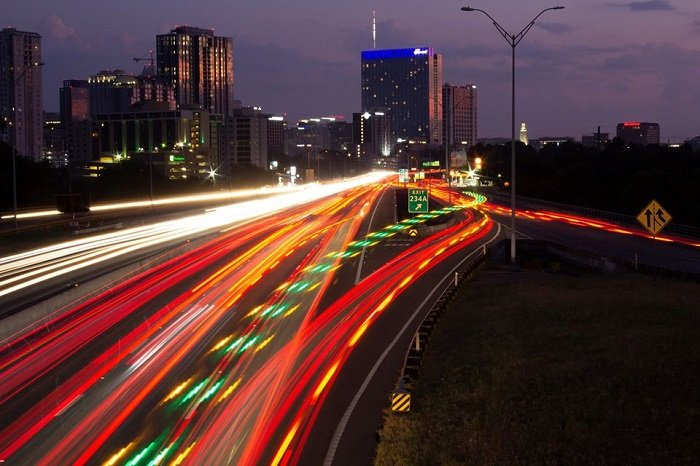 Light Trails Photo by Gary Wiley