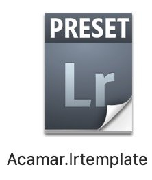 Lightroom preset desktop icon