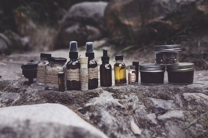 Product photography of beauty products