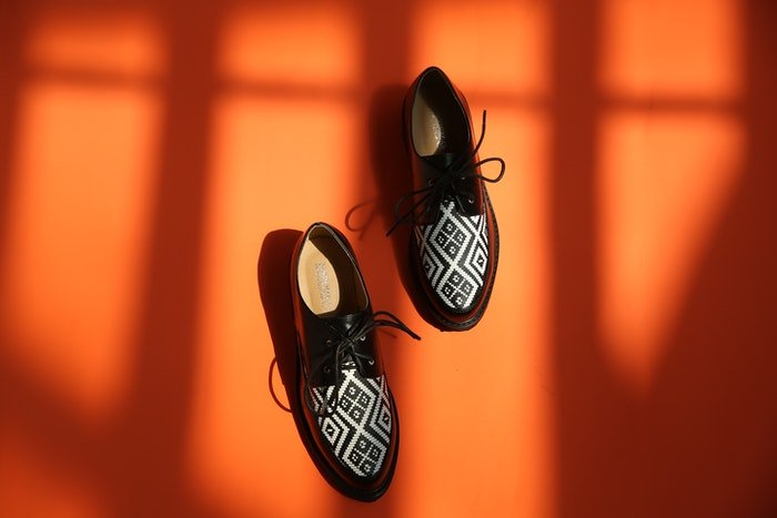 A pair of dancing shoes