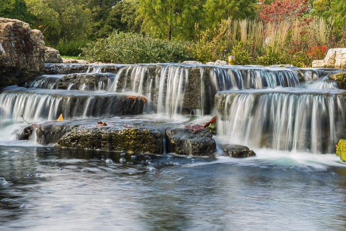 Long Exposure waterfall with optimal blur