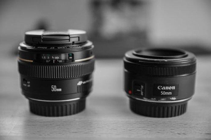 两个50mm定焦镜头