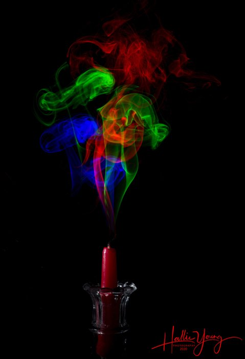 Harris shutter effect by Hallie Young