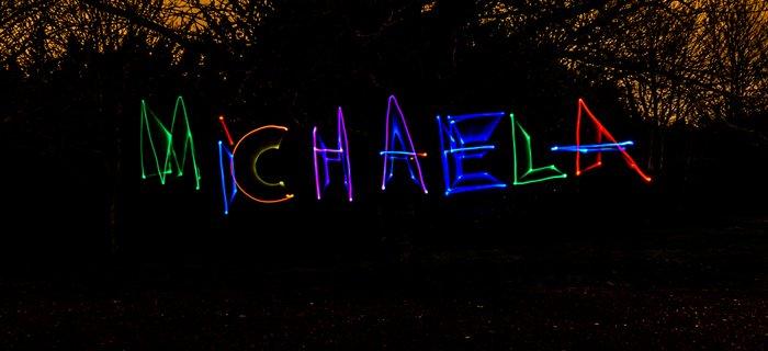 Light graffiti photography by Stuart