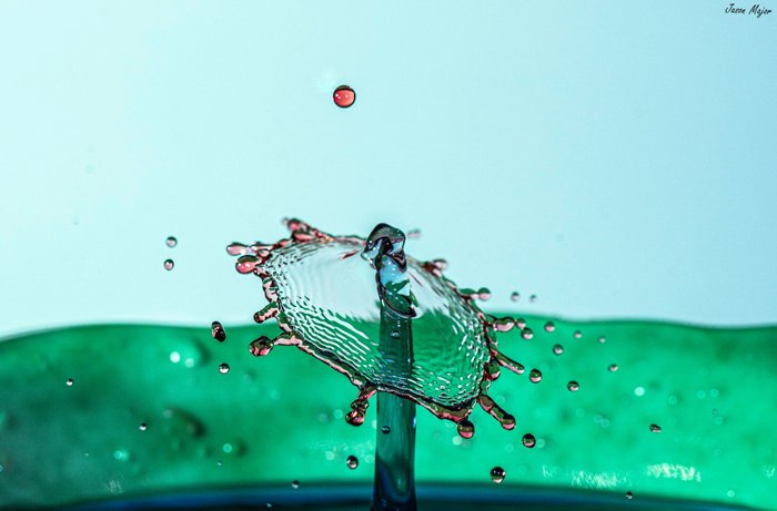 Water drop photography by Jason Major