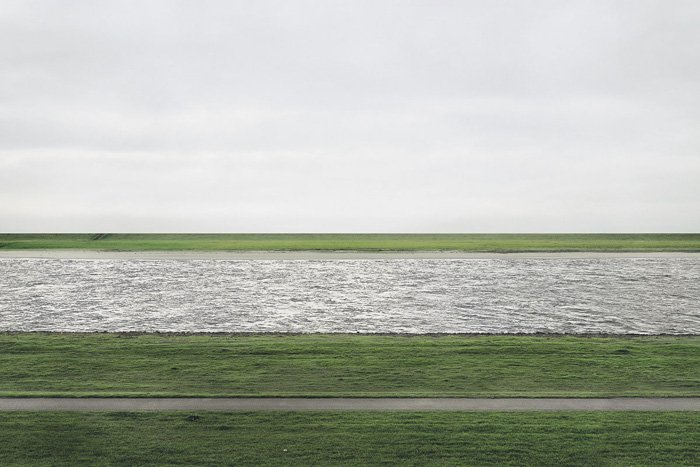 Rhein II Andreas Gursky - 1999