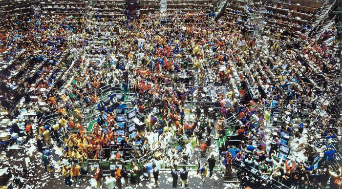 Chicago Board of Trade II by Andreas Gursky - 1999/2000