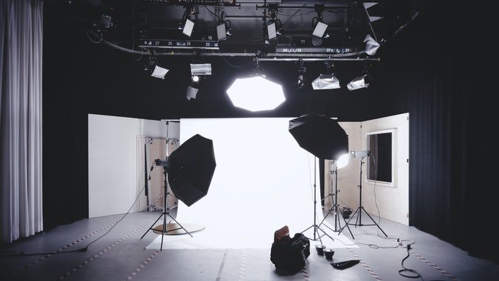 product photography studio setup