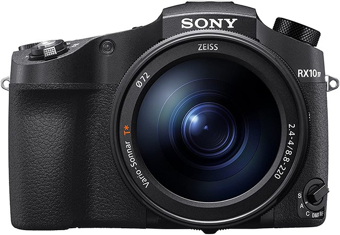 Image of a Sony RX10 Mark IV.