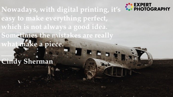 Photography quote by Cindy Sherman