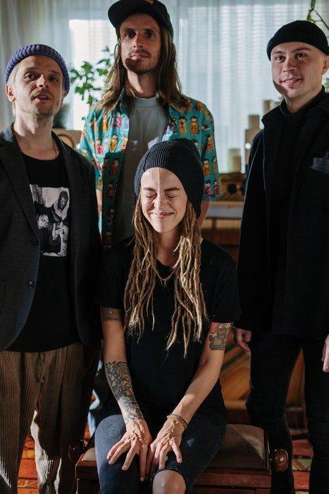 Music band promo shot