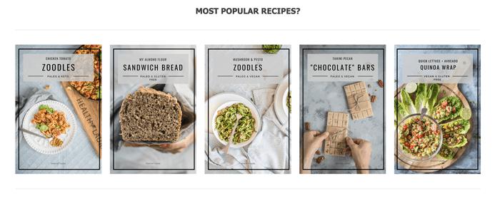 Five healthy recipes of food blogger Healthy Laura