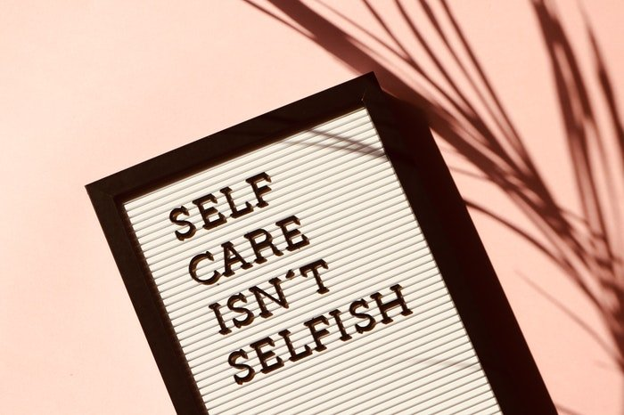 A book called self care isnt selfish