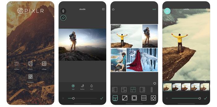 Pixlr app screenshot