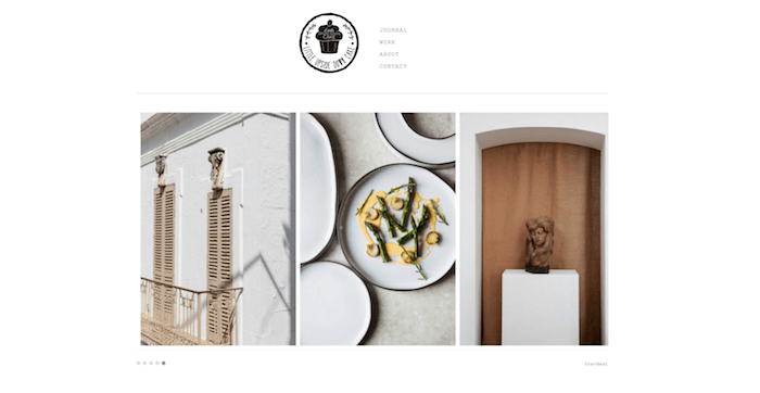 A food photography blog