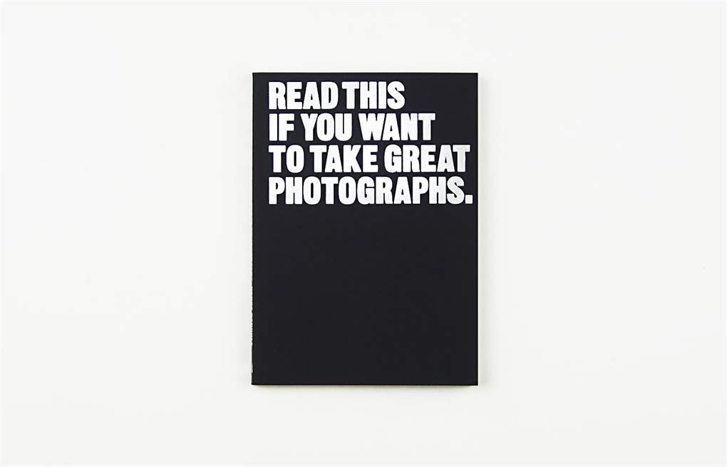 The cover of 'Read This If You Want to Take Great Photographs' book by Henry Carroll