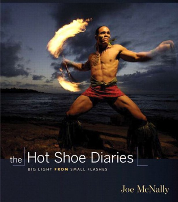 The cover of The Hot Shoe Diaries - Joe McNally