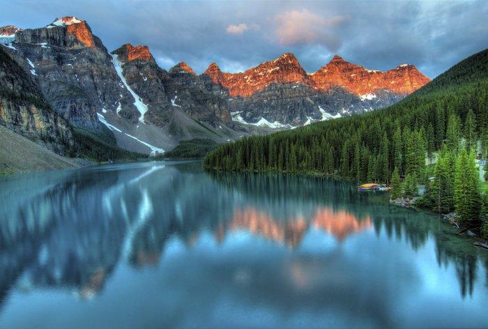Stunning mountainous landscape