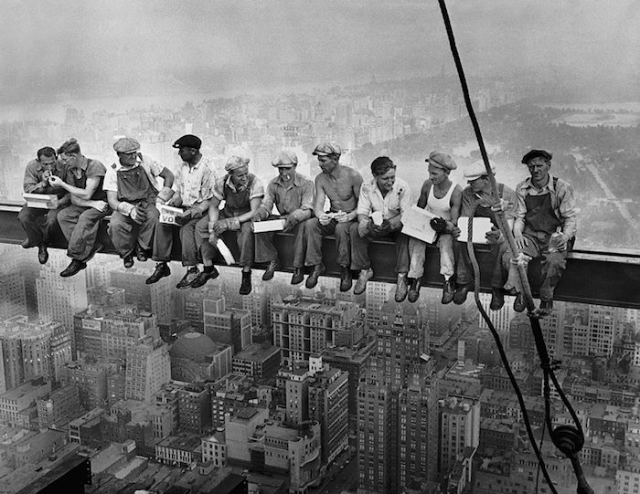The iconic photo of Lunch Atop A Skyscraper