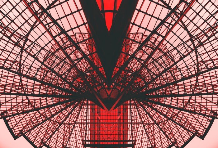 Abstract architectural photography