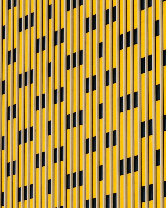 Abstract photo of the exterior of a building