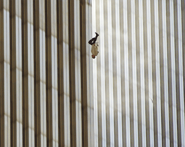 The 9/11 Falling Man controversial photos by Richard Drew
