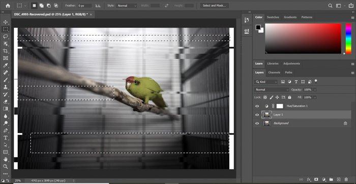 Creating glitch effect photoshop