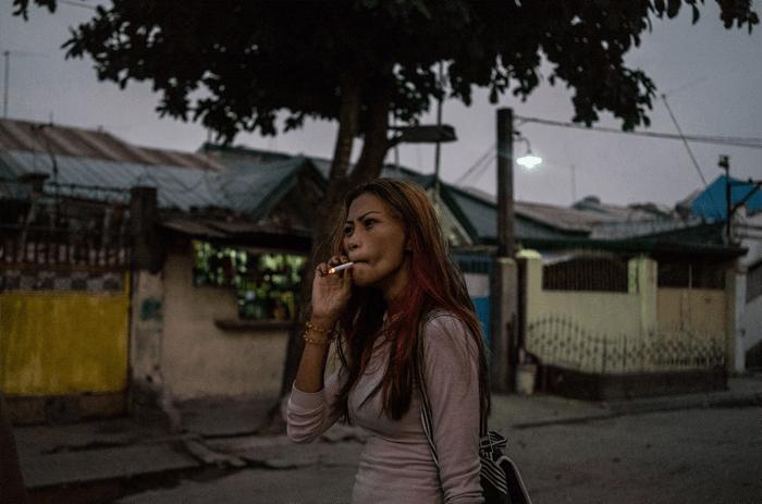 portrait by female photographer Hannah Reyes Morales