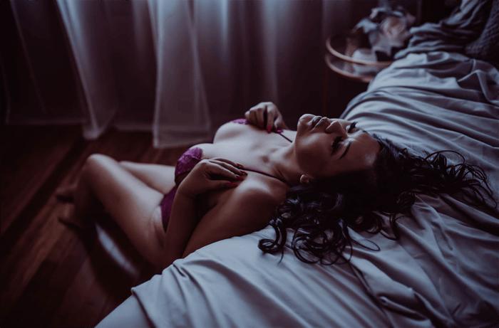 Screenshot from Melissa Ford Photography Boudoir blog