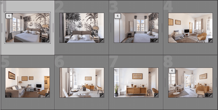 Editing real estate photography in Lightroom