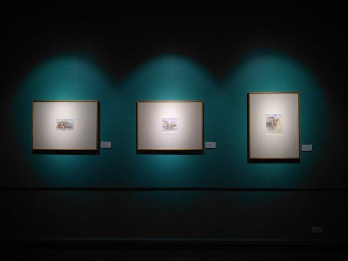 artwork prints on display