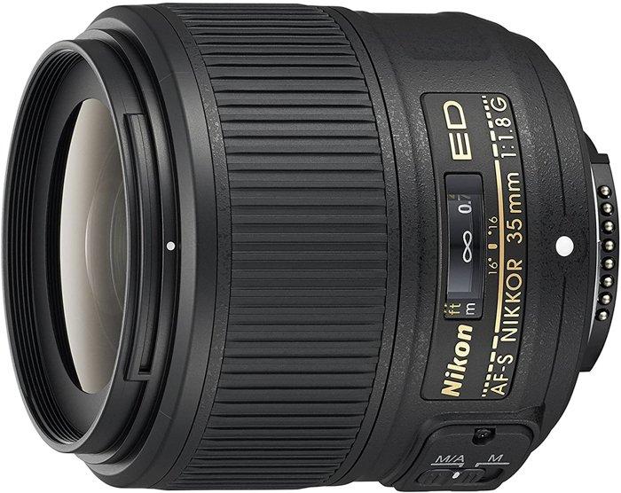 Nikon 35mm - 35mm vs 50mm lenses
