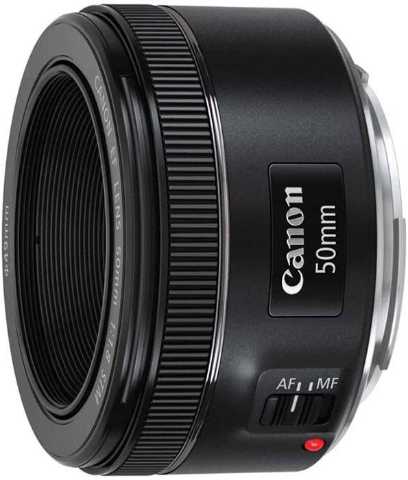 a 50mm Canon prime lens 35mm vs 50mm lenses