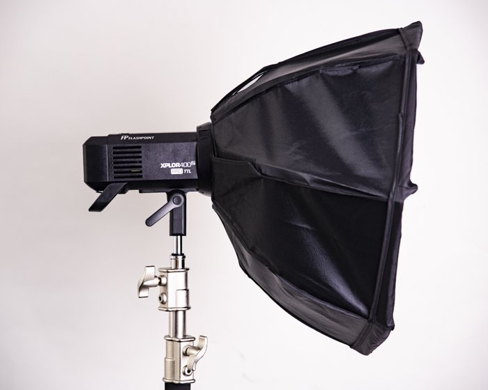 A softbox for photography lighting