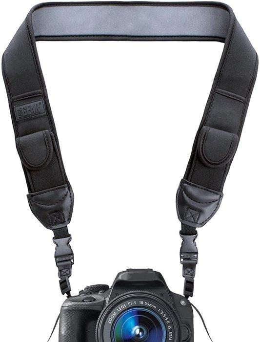 USA Gear neoprene camera neck strap