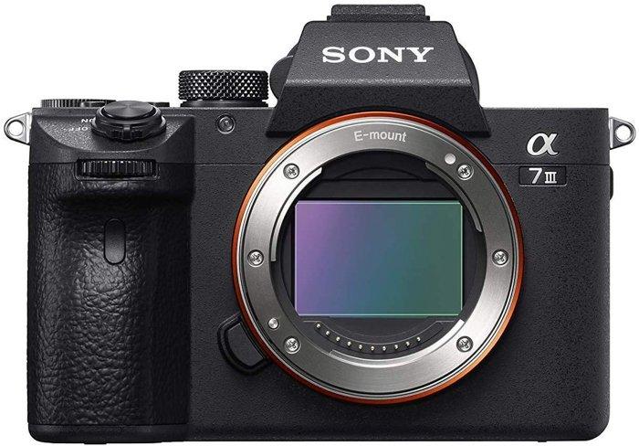 A Sony A7II camera
