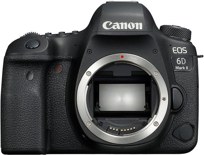 an image of a Canon EOS 6D Mark II camera body
