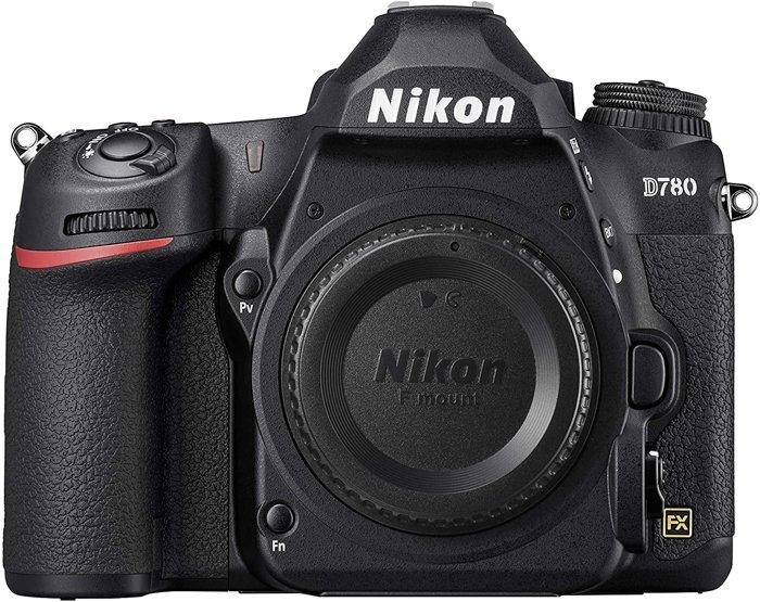 an image of a Nikon D780 camera body