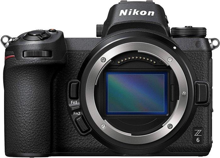 A Nikon Z6 camera body