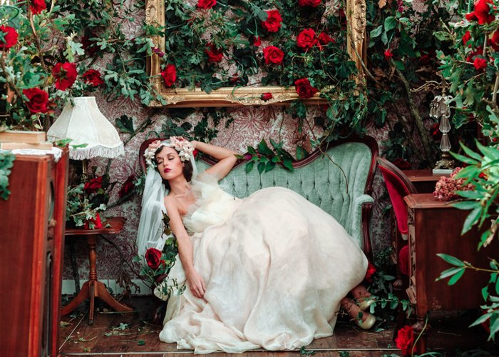 Fantasy Bridal Photo edited by Greater than Gatsby free Lightroom Presets