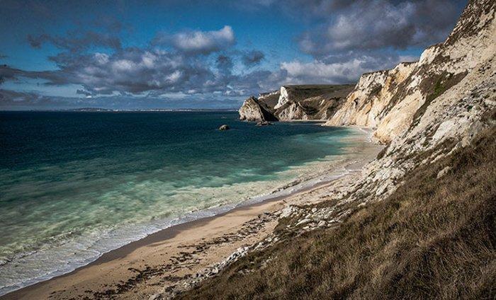 Image of Chalk Cliffs edited by Shutter Pulse Lightroom presets