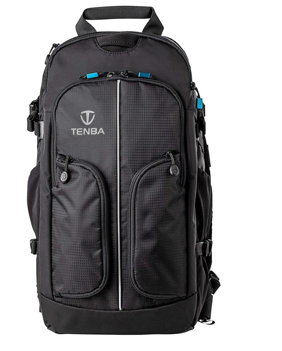 a shot of the Tenba Shootout 16L DSLR Backpack