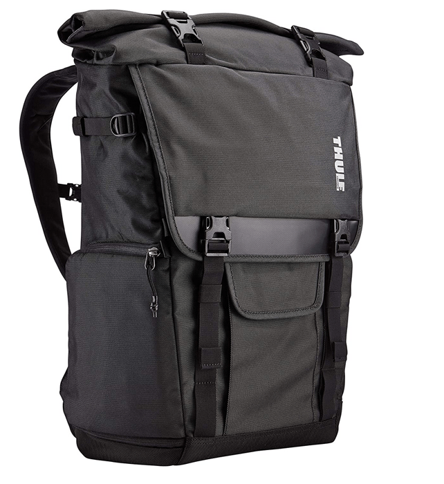 a shot of the Thule Covert DSLR Rolltop Daypack