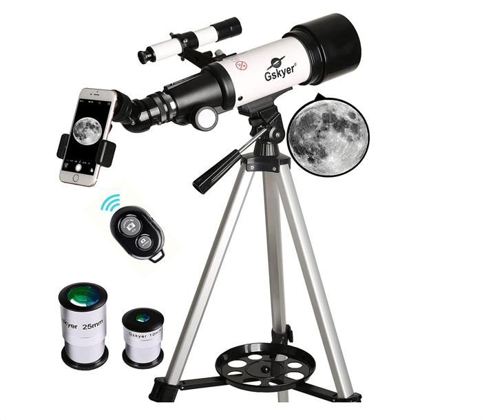 Gskyer Telescope 70mm for astrophotography