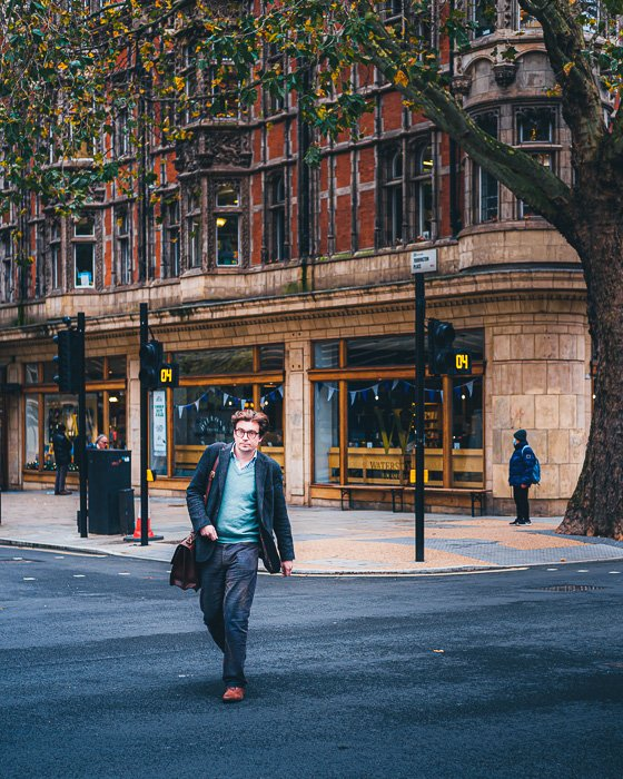 Street photograph image shot with the Fujifilm X-T200 in London