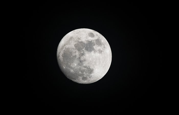 an image of a full moon shot during night