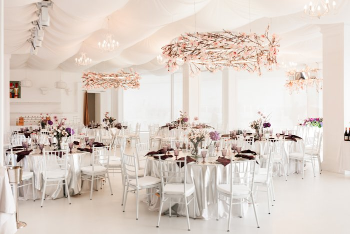 an image of an empty wedding banquette hall