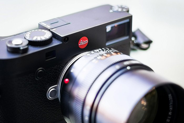 Leica M10 with 50mm Noctilux close up