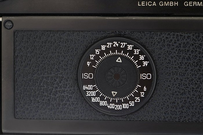 The ISO chart of the Leica M6