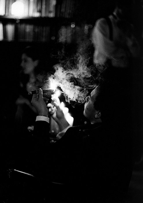 A low-light photograph taken with a Leica M6 by Terry Gruber